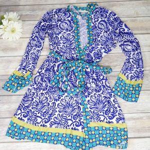 Linea Donatella | S/M Multi-color Robe Coverup